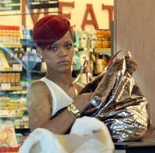 Rihanna buying Spice in LA